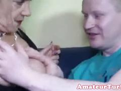Blonde german nurse gives guy anal exam