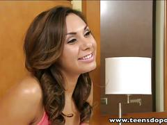 Teensdoporn sex interview with tattooed tanned teen