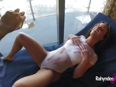 Rahyndee james anal fucking pov