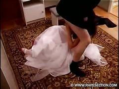 Bride gets brutal present