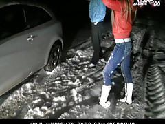 Nightkiss66 - im schnee gefickt