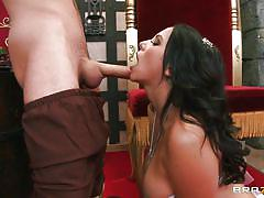 milf, big tits, big cock, blowjob, princess, brunette, roleplay, medieval, porn stars like it big, brazzers network, missy martinez, james deen