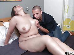 milf, brunette, huge boobs, undressing, licking nipples, bbw, bbw bet, miroslava x