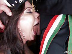 milf, threesome, big tits, deepthroat, mexican, blowjob, brunette, big dick, mariachi, porn stars like it big, brazzers network, aleksa nicole, toni ribas, carlo carerra