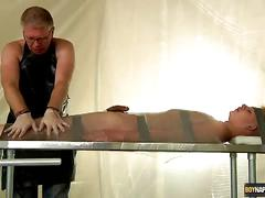 Raw slave submits to master daddy