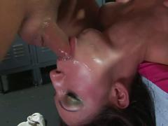 Chloe gets a hard face fucking