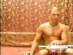 Sexy stud merkcool's webcam hot jerking off show