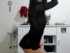 Brasileña bailando (stripper)