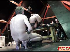 Czech dominatrix in the attic