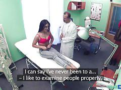She doesn't know she's in a fake hospital