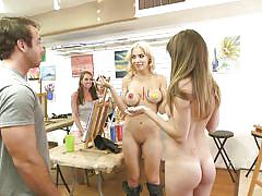 blonde, money talks, busty, bubble butt, babes, for money, brunette, public flashing, body painting, money talks, playboy tv, kylie cupcake morgan
