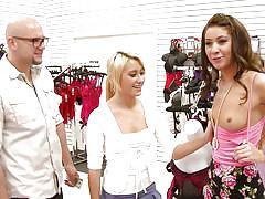 Erotic lingerie sluts have a threesome for money @ season 4, ep. 3
