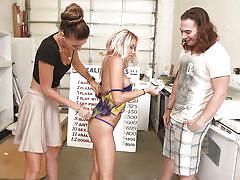 Sexy lesbos take the challenge @ season 4, ep. 8