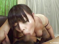 big tits, babe, japanese, blowjob, brunette, censored, pov, slurping, japanese slurp, all japanese pass