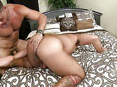 Stud gets fucked by a huge guy with big dick