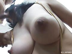 big tits, babe, japanese, blowjob, cosplay, tit job, masked, nipple pinching, boobs groping, j cos play, all japanese pass, tsukada shiori