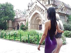 milf, public nudity, mistress, outdoor, domination, public disgrace, blonde babe, ass slapping, mouth gagged, public disgrace, kink, ram, alexa wild, fetish liza