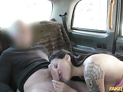 babe, blowjob, picked up, backseat, fingering, tattooed, car sex, cunnilingus, fake taxi, fake taxi, fake hub
