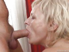 Grandma having fun with four fresh dicks @ 25 fucking grandmas