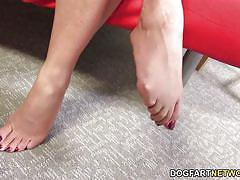 Janet mason bbc foot fetish
