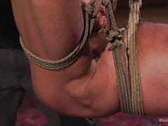 Ropes, naked men and hot sex