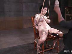 Bondage slave tortured and punished by jack hammerx