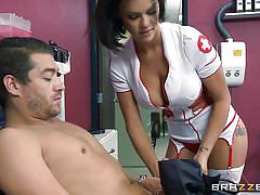 nurse, rimjob, bubble butt, deep throat, tattooed, riding cock, licking pussy, busty babe, doctors office, doctor adventures, brazzers, peta jensen, xander corvus