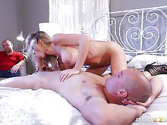 milf, tattoo, blonde, wife, cuckold, big tits, big cock, blowjob, husband watching, position 69, real wife stories, brazzers, sean lawless, destiny dixon