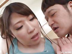Japanese gym slut has big tits