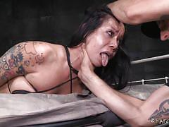 interracial, deep throat, tattooed, from behind, sucking dildo, asian babe, rope bondage, electric vibrator, bdsm threesome, hard tied, kimmy lee x, jack hammerx, maestro