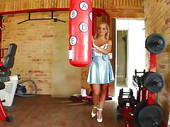 outside, masturbation, blowjob, cosplay, big dick, boxing, pov, blonde babe, maid uniform, pure pov, kasey xx
