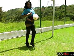 shemale, latina tranny, big ass, stockings, jerking off, black hair, monster cock, lingerie, outdoors, bigtits, soccer, thongs, shemale tugjobs, shemax network
