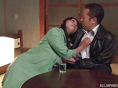 Mature japanese slut wants her man so badly