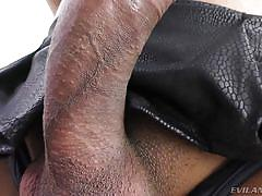 Hot ladyboy drips precum @ trans-visions #07
