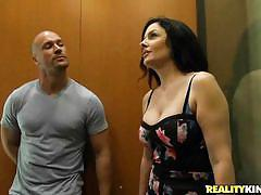 Sexy natalie gets picked up