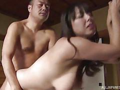Mature housewife is here to serve her husband