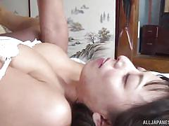 mature, japanese, blowjob, busty, housewife, pussy licking, brunette, from behind, censored, japanese matures, all japanese pass, ryoko murakami