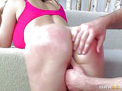 milf, big boobs, oiled, fingering, brunette, butt plug, big wet butt, big wet butts, brazzers, charles dera, nikki benz