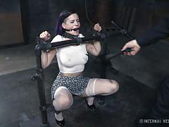 Restrained in the dungeon