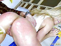 anal, rimjob, fingering, deep throat, big dick, from behind, blonde milf, construction worker, big oiled ass, big wet butts, brazzers, danny d, ashley fires