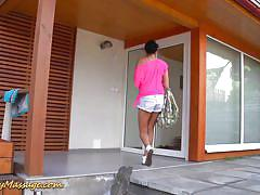 Slippery nuru massage for polboy