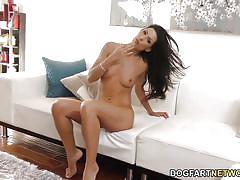 small tits, interracial, big cock, pornstar, deepthroat, blowjob, gagging, face fuck, brunette, big dick, bbc, dogfart network, alexa tomas