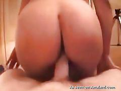 Girlfriend with big butt gets fucked
