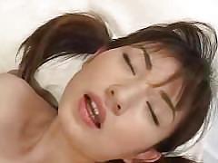 A very pretty jav idol in the hardcore sex.
