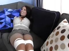 bondage, fetish, big tits, bdsm, fake tits, goldie blair, british, goldie blair bondage