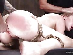 Can she pass the brutal slave training test?