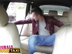 Femalefaketaxi hot cabbie wants to get fucked and get cum all over her tits