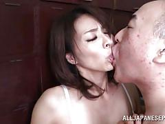 mature, japanese, licking, kissing, hairy pussy, censored, finger sucking, japanese matures, all japanese pass, hisae yabe