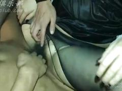 Black stocking milf enjoy different of sex with some guys