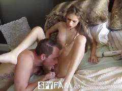 Spyfam huge dick brother fantasy fucks step sister rebel lynn